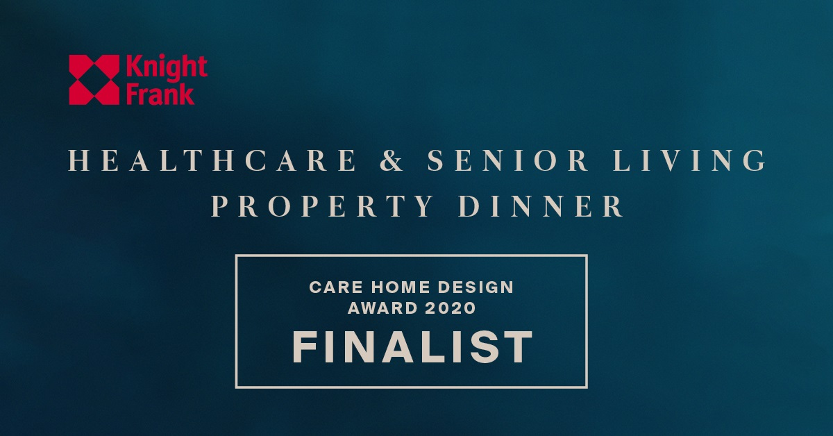 Finalist at the Knight Frank Care Home Awards!