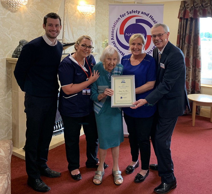 A Safety In Care Award!